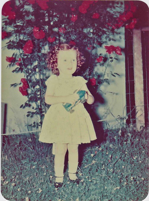 Aumack as a child.